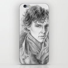 Sherlock Homles iPhone & iPod Skin