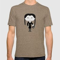 Wednesday Mens Fitted Tee Tri-Coffee SMALL
