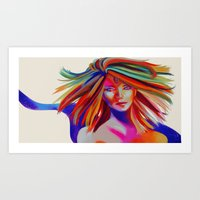 Anti Gravity Art Print