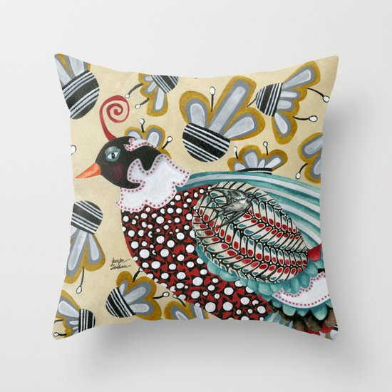 Pheasant Noble Throw Pillow