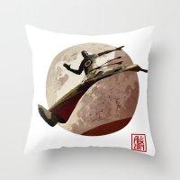Capoeira 767 Throw Pillow