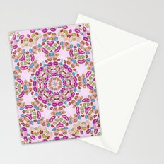 Love and Kisses Mandala Stationery Cards