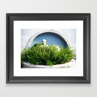 Overgrown Ferns Framed Art Print