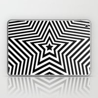 Stars - Black & White Ve… Laptop & iPad Skin