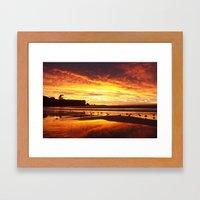 Coogee Sunrise Framed Art Print