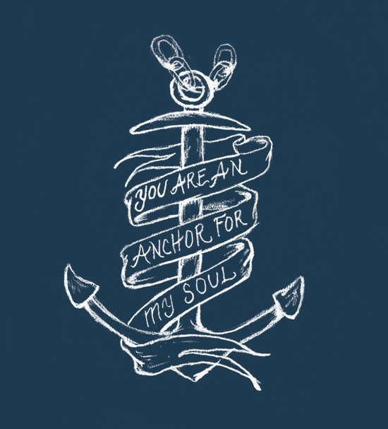 You are an anchor Art Print