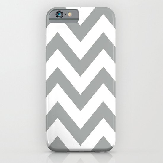 Gray Chevron iPhone & iPod Case