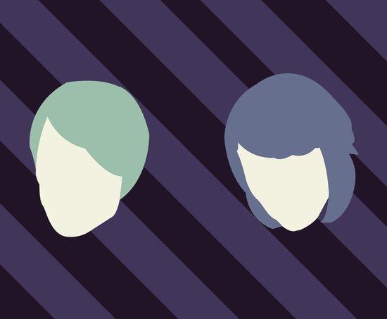Tegan and Sarah Canvas Print