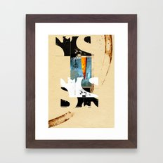 ALMOST GONE Framed Art Print
