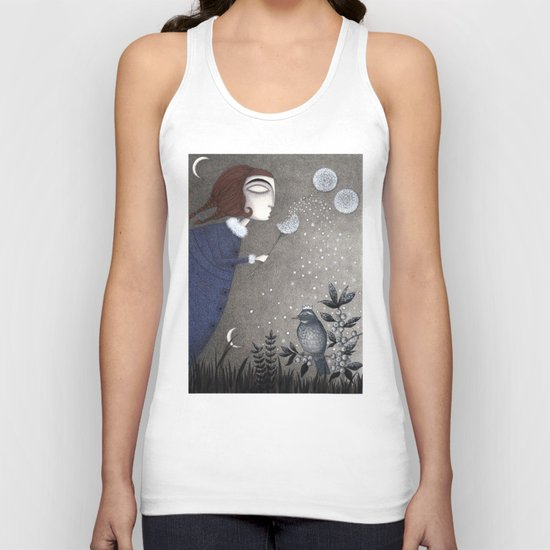 Winter Twilight Unisex Tank Top