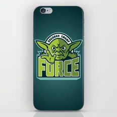 Dagobah Swamp Force - Teal iPhone & iPod Skin