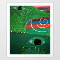 Whale Of A Bird Art Print