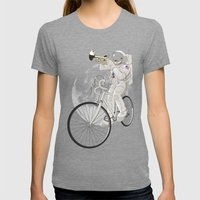 Armstrong Womens Fitted Tee Tri-Grey SMALL