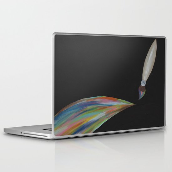 Color Brush Laptop & iPad Skin