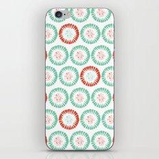 Block Print Circles iPhone & iPod Skin