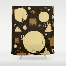Geometry and equation Shower Curtain