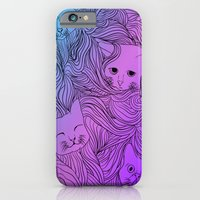 iPhone & iPod Case featuring Shades of Cat by SharnyaTheStrange