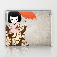 Madame Butterfly Laptop & iPad Skin