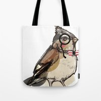 Mister bird for Sorted Exhibition Tote Bag