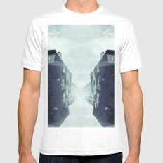city in the sky Mens Fitted Tee SMALL White