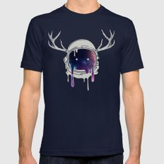 The Passenger Mens Fitted Tee Navy SMALL