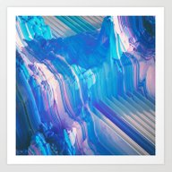 CHANNELED EROSION (every… Art Print