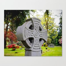 Cemetery beauty Canvas Print
