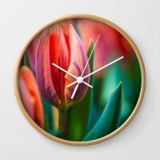 tulip. Wall Clock
