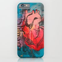 iPhone & iPod Case featuring Heavy Heart by Susan Marie