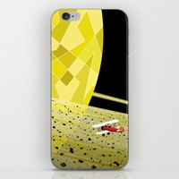 Lost In Time and Space iPhone & iPod Skin