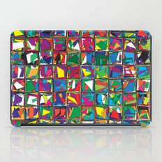 Stacks Geometric Art Print. iPad Case