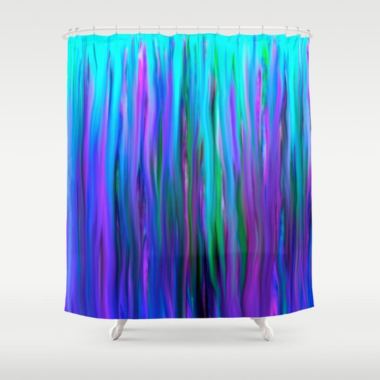 ... Water Abstract Oil Painting Shower Curtain by Saundra Myles   Society6