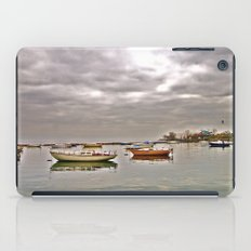resting boats iPad Case