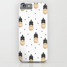 Golden Pineapple Pattern iPhone 6 Slim Case