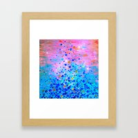 WHAT GOES UP, REVISITED … Framed Art Print
