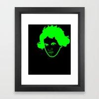 I __ Music Framed Art Print
