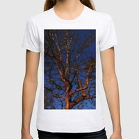Tree Of Colour: Blue Ver… Womens Fitted Tee Ash Grey SMALL