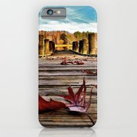 iPhone & iPod Case featuring Don't Leaf Me by Thephotomomma