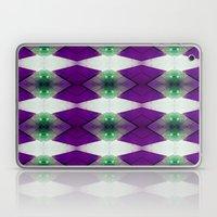 Purple Diamonds Laptop & iPad Skin