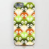 iPhone & iPod Case featuring susuwatari pattern (color version) by freshinkstain