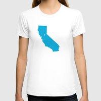 california T-shirts featuring California by Hunter Ellenbarger