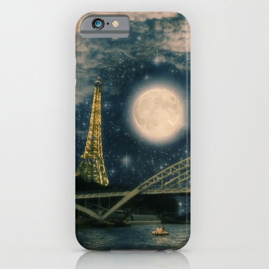 One Starry Night in Paris iPhone & iPod Case