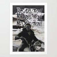 REVOLUTION! REVOLUTION! … Art Print