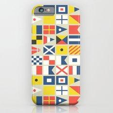 Geometric Nautical flag and pennant Slim Case iPhone 6s