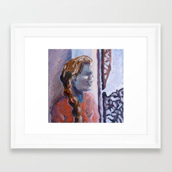 Your Mother and My Mother Framed Art Print