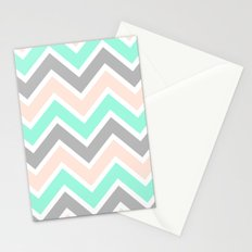 MUTED CHEVRON Stationery Cards