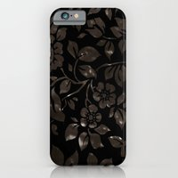 iPhone & iPod Case featuring floral grunge by ponymonster