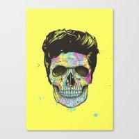 Color your death Canvas Print