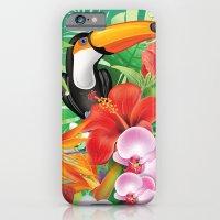 tropical  karnaval iPhone 6 Slim Case