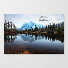 Mt Shuksan-adventure Canvas Print